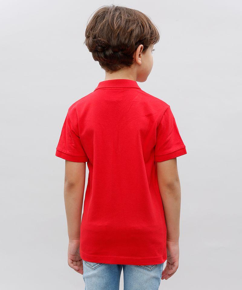 Polo-Infatil-em-Piquet-com-Bordado-Manga-Curta-Vermelha-8453961-Vermelho_2