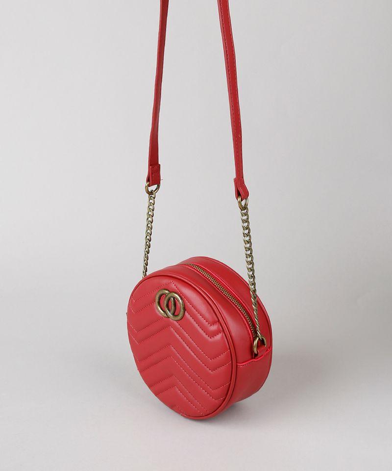 Bolsa-Feminina-Transversal-Pequena-Redonda-com-Matelasse-Vermelha-9484883-Vermelho_3