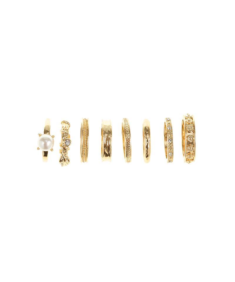 Kit-de-8-Aneis-Dourado-8459382-Dourado_3