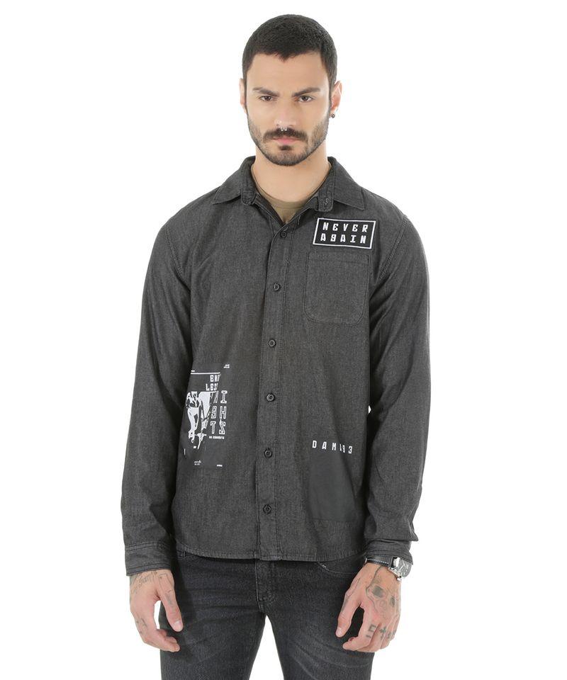 Camisa-Jeans-com-Patch-Preta-8535367-Preto_5