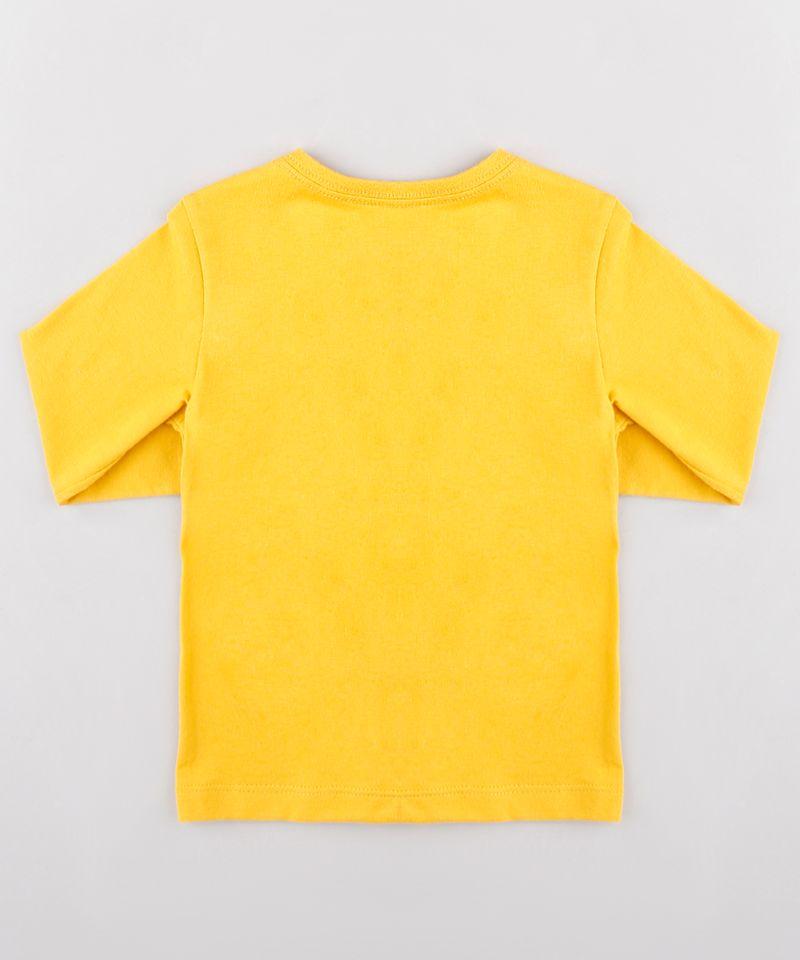 Camiseta-Infantil-com-Estampa-Interativa-de-Carros-Manga-Longa-Mostarda-9530790-Mostarda_2