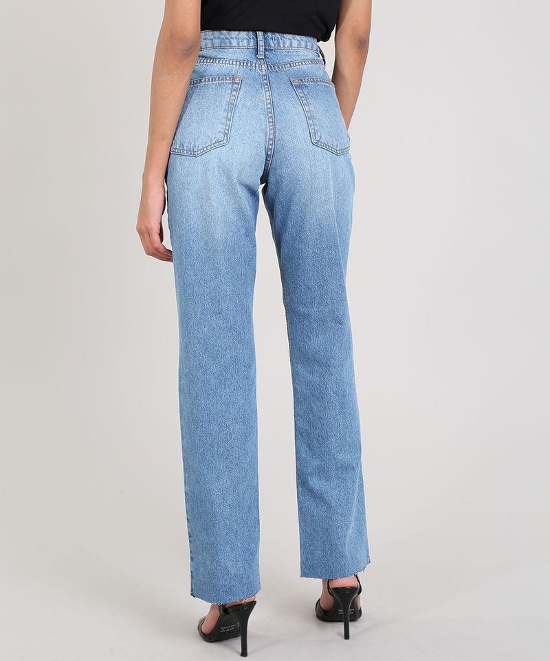 Calca-Jeans-Feminina-Mindset-Reta-Azul-Medio-9687366-Azul_Medio_2