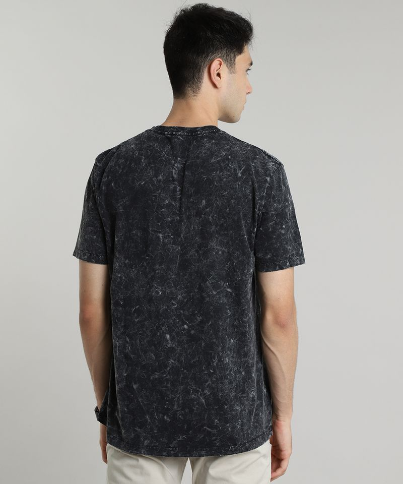 Camiseta-Masculina-Manopla-do-Infinito-Os-Vingadores-Marmorizada-Manga-Curta-Gola-Careca-Preta-9609296-Preto_2