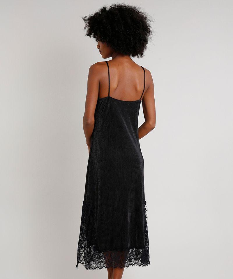 Vestido-Slip-Dress-Feminino-Mindset-Midi-Acetinado-Plissado-com-Renda-Alca-Fina-Preto-9721631-Preto_2