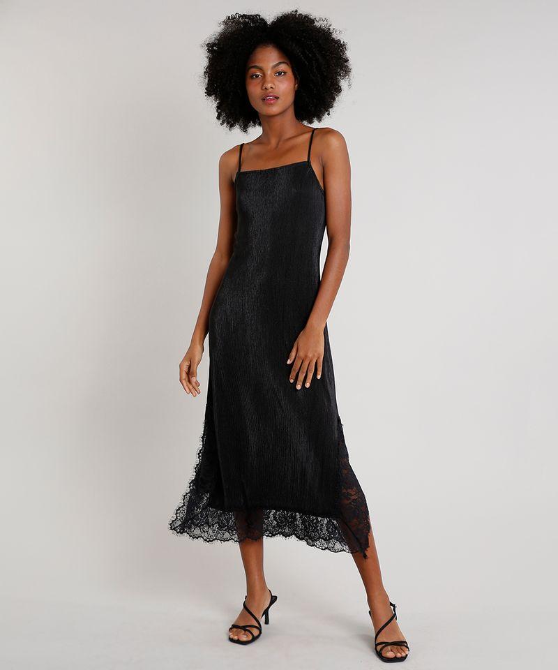 Vestido-Slip-Dress-Feminino-Mindset-Midi-Acetinado-Plissado-com-Renda-Alca-Fina-Preto-9721631-Preto_3