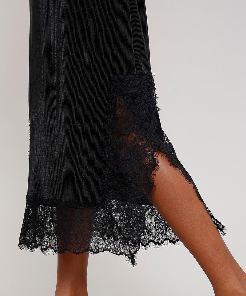 Vestido-Slip-Dress-Feminino-Mindset-Midi-Acetinado-Plissado-com-Renda-Alca-Fina-Preto-9721631-Preto_4