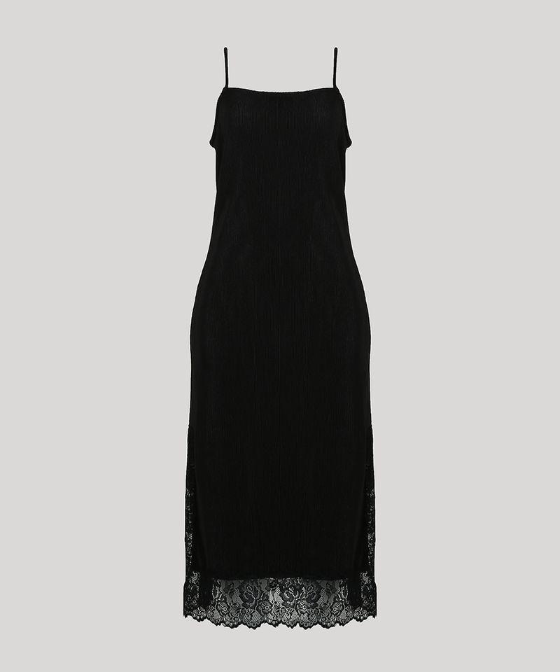 Vestido-Slip-Dress-Feminino-Mindset-Midi-Acetinado-Plissado-com-Renda-Alca-Fina-Preto-9721631-Preto_5