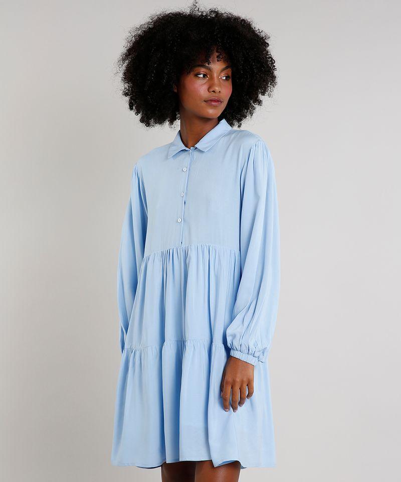 Vestido-Feminino-Mindset-Curto-com-Babados-Manga-Bufante-Gola-Esporte-Azul-Claro-9752545-Azul_Claro_1