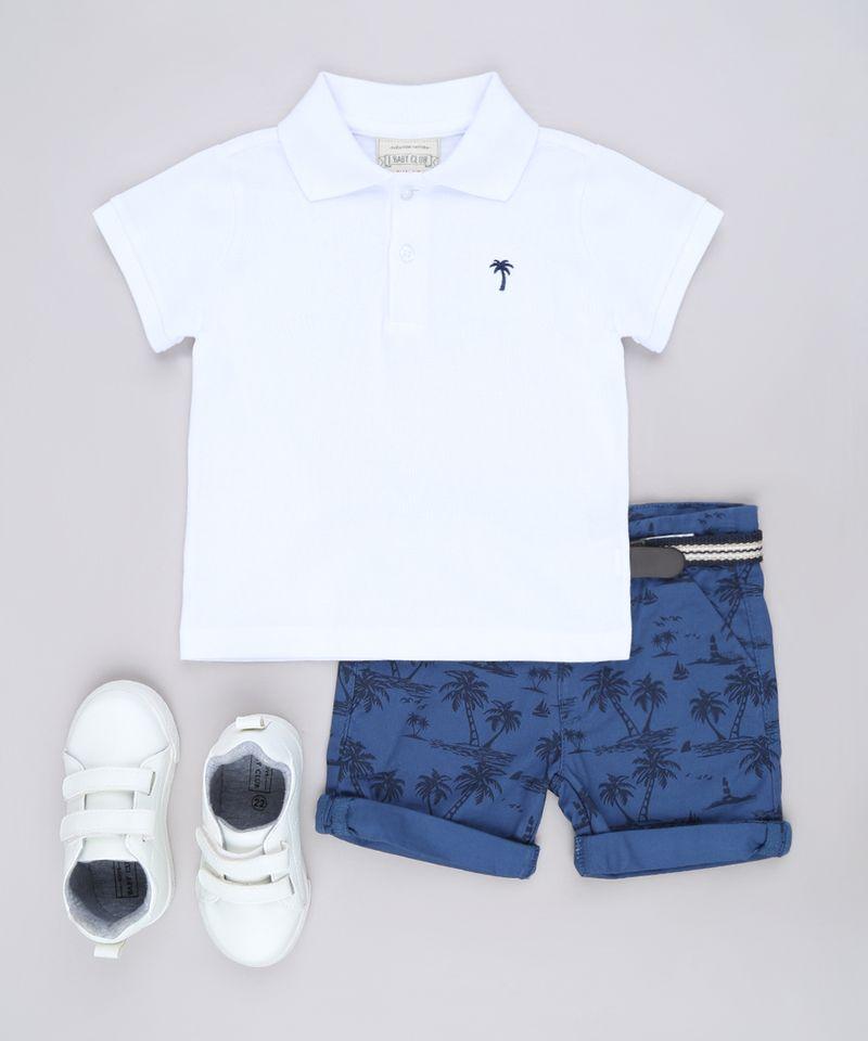 Bermuda-de-Sarja-Infantil-Estampada-de-Coqueiros-com-Cinto-Azul-Marinho-9563571-Azul_Marinho_3