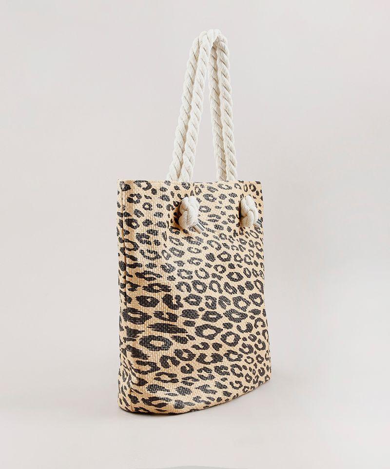 Bolsa-Feminina-Shopper-Grande-Estampada-Animal-Print-Onca-com-Palha-Bege-9602425-Bege_3