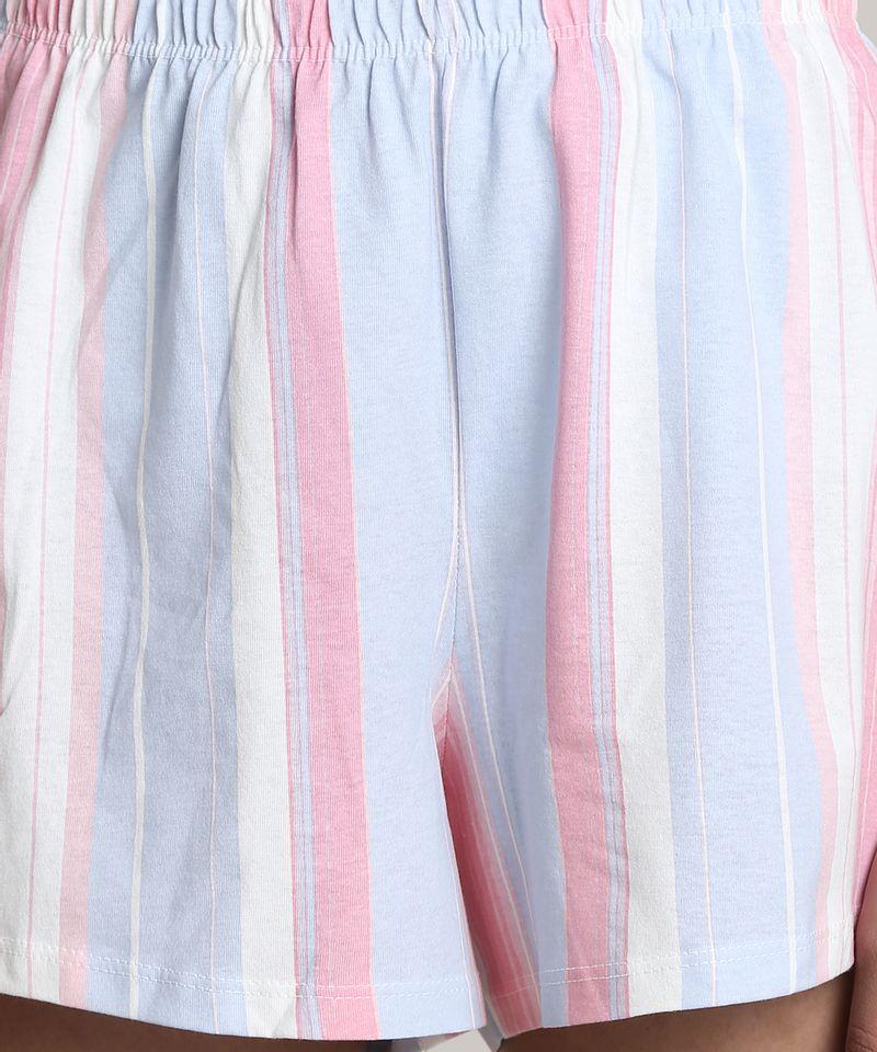 Pijama-Feminino-Mickey--Cool--Manga-Curta-Azul-Claro-9610506-Azul_Claro_3