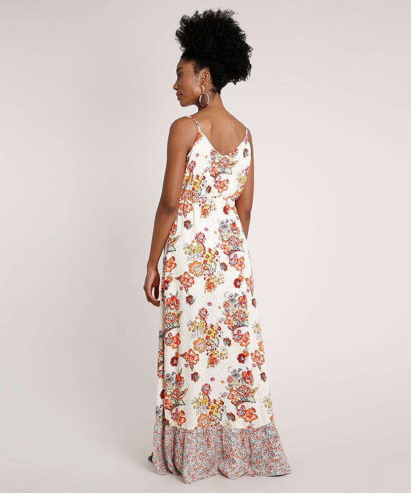 Vestido-Feminino-Longo-Transpassado-Estampado-Floral-com-Babado-Alca-Fina-Off-White-9681370-Off_White_2