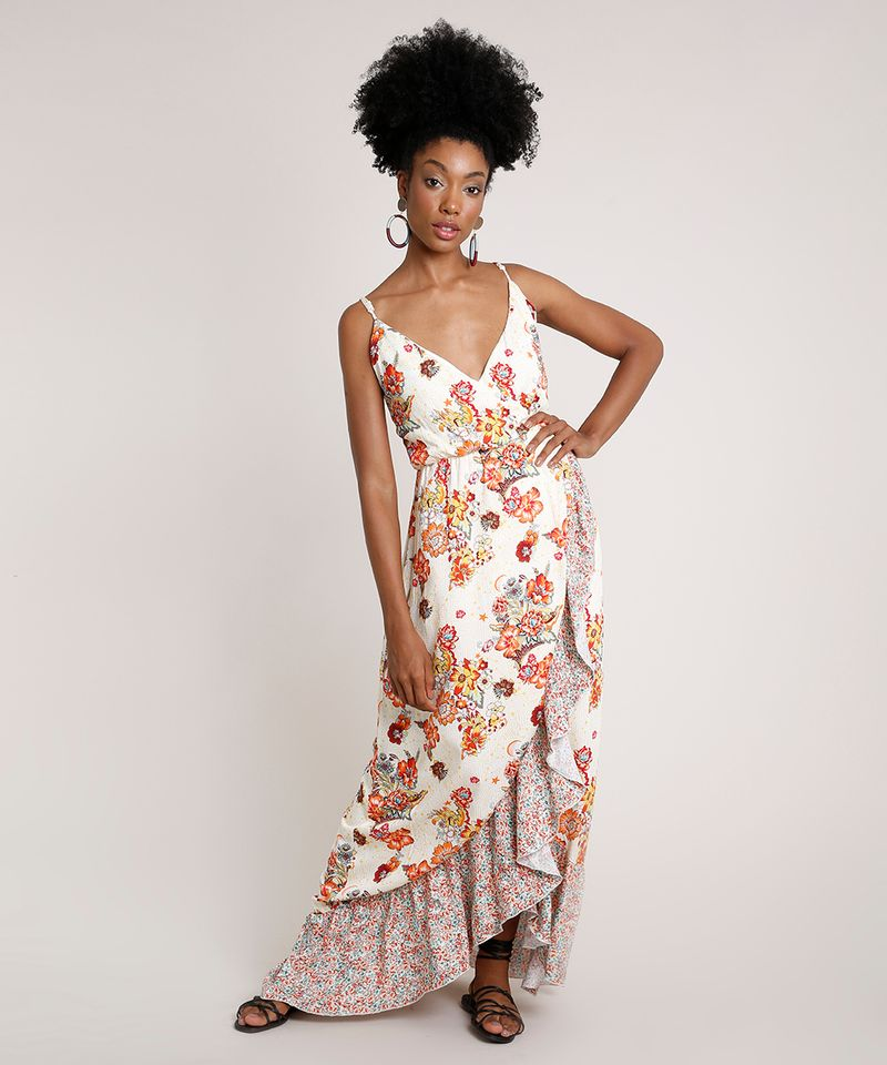 Vestido-Feminino-Longo-Transpassado-Estampado-Floral-com-Babado-Alca-Fina-Off-White-9681370-Off_White_3