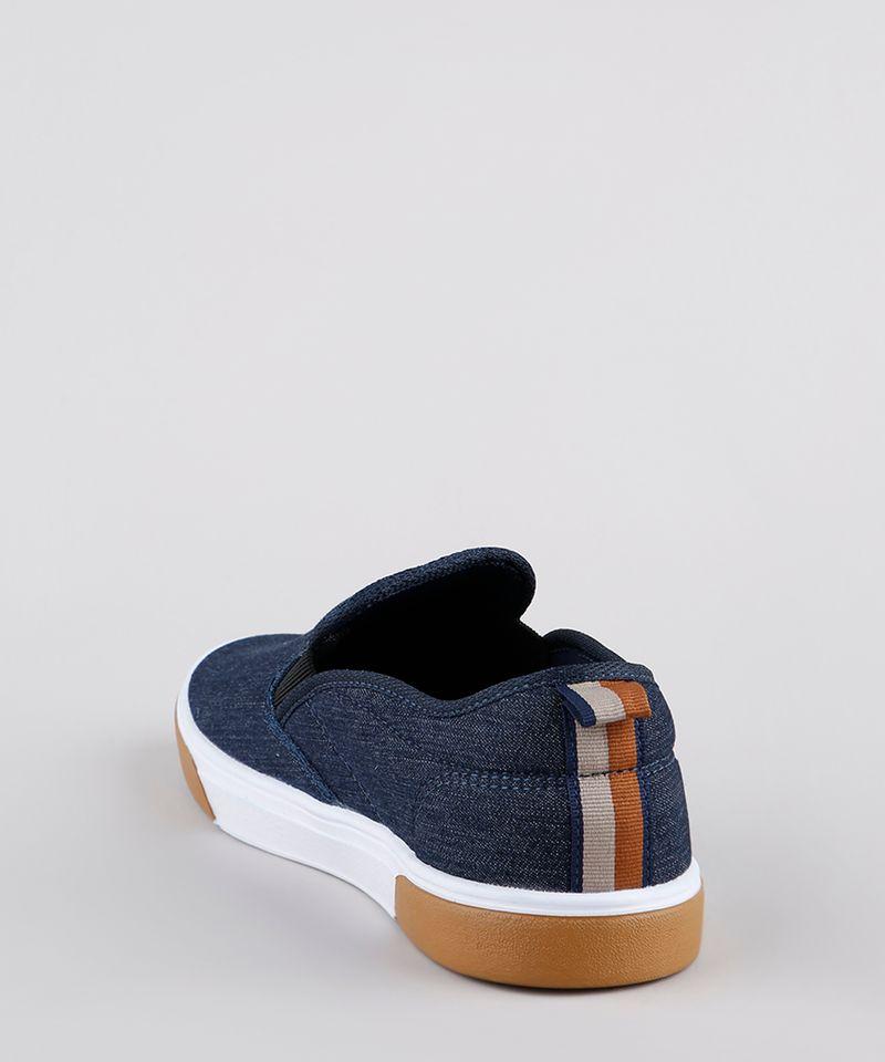 Tenis-Jeans-Slip-On-Masculino-Ollie-Azul-Escuro-9898037-Azul_Escuro_3