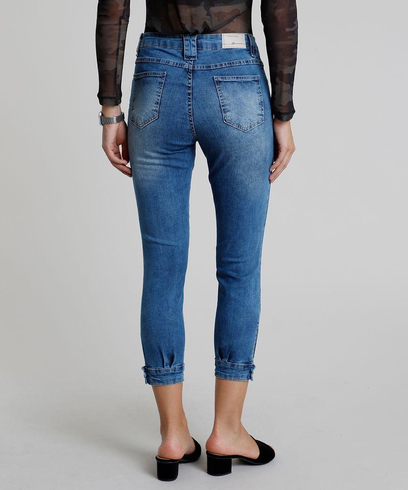 Calca-Feminina-Sawary-Jogger-Skinny-Cintura-Alta--Azul-Claro-9914201-Azul_Claro_2