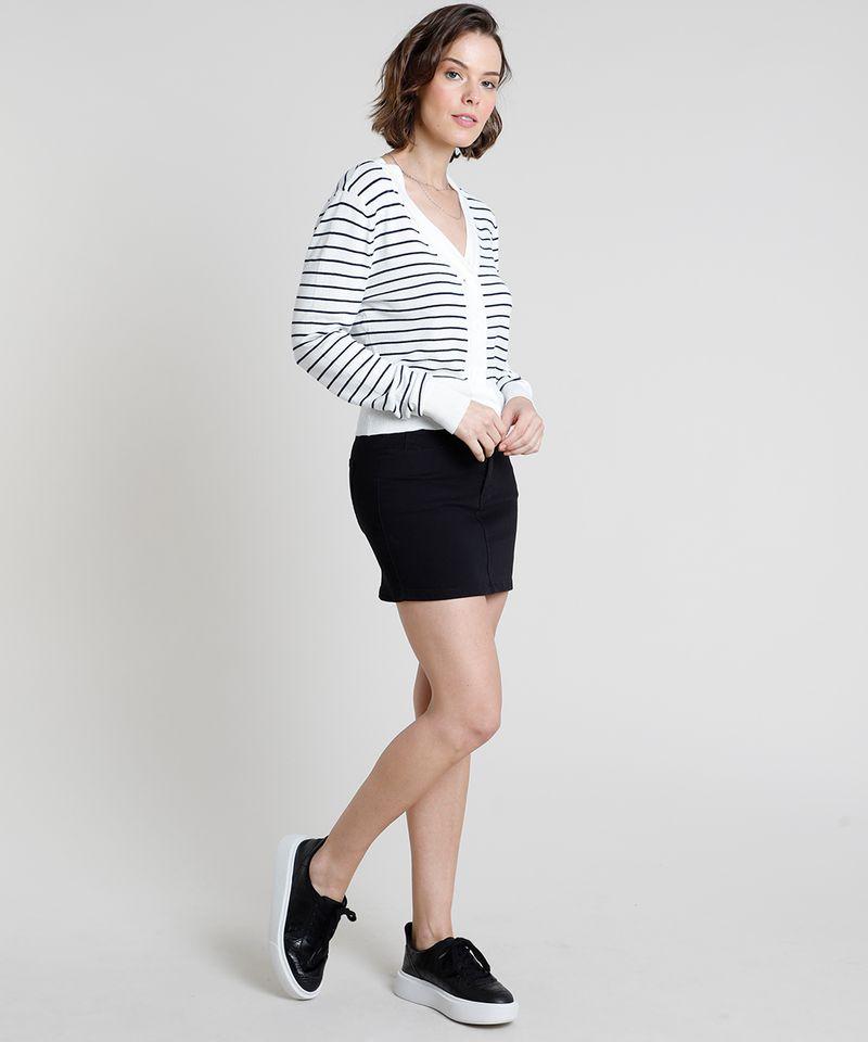 Cardigan-Feminino-Basico-Listrado-em-Trico-com-Botoes--Off-White-9804579-Off_White_3