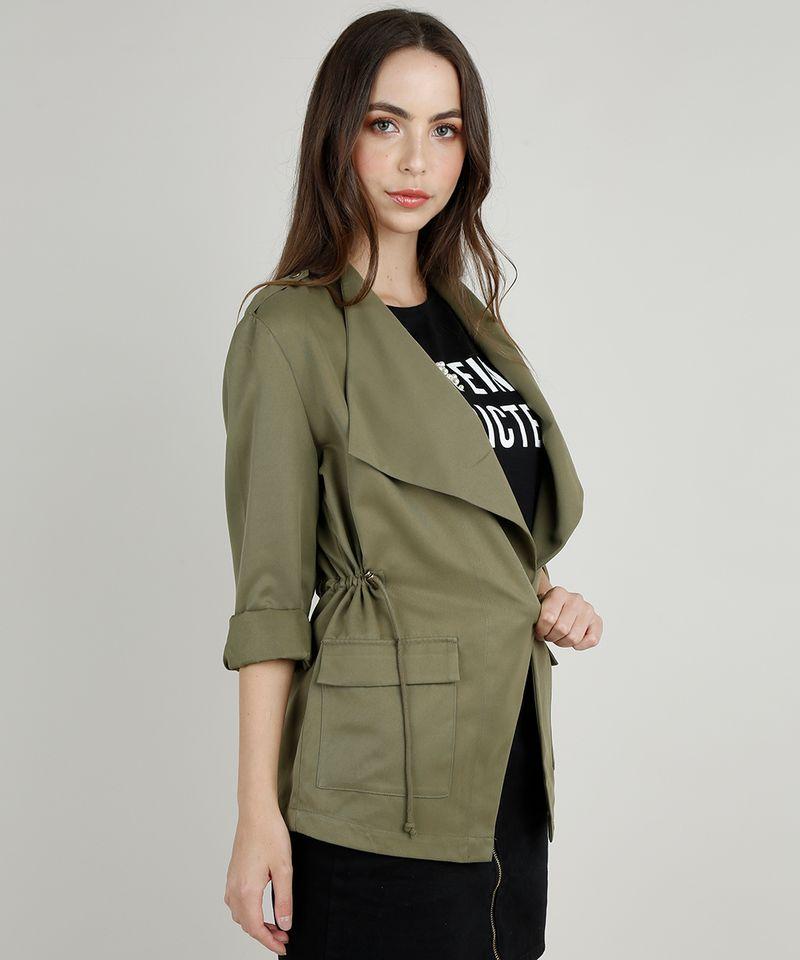 Parka-Feminina-com-Bolsos-e-Cordao-Verde-Militar-9824409-Verde_Militar_1