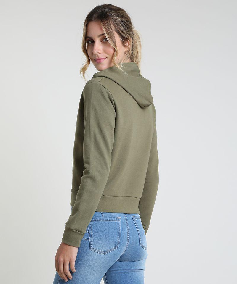 Blusao-Feminino-Basico-em-Moletom-Felpado-com-Capuz--Verde-Militar-9785594-Verde_Militar_2