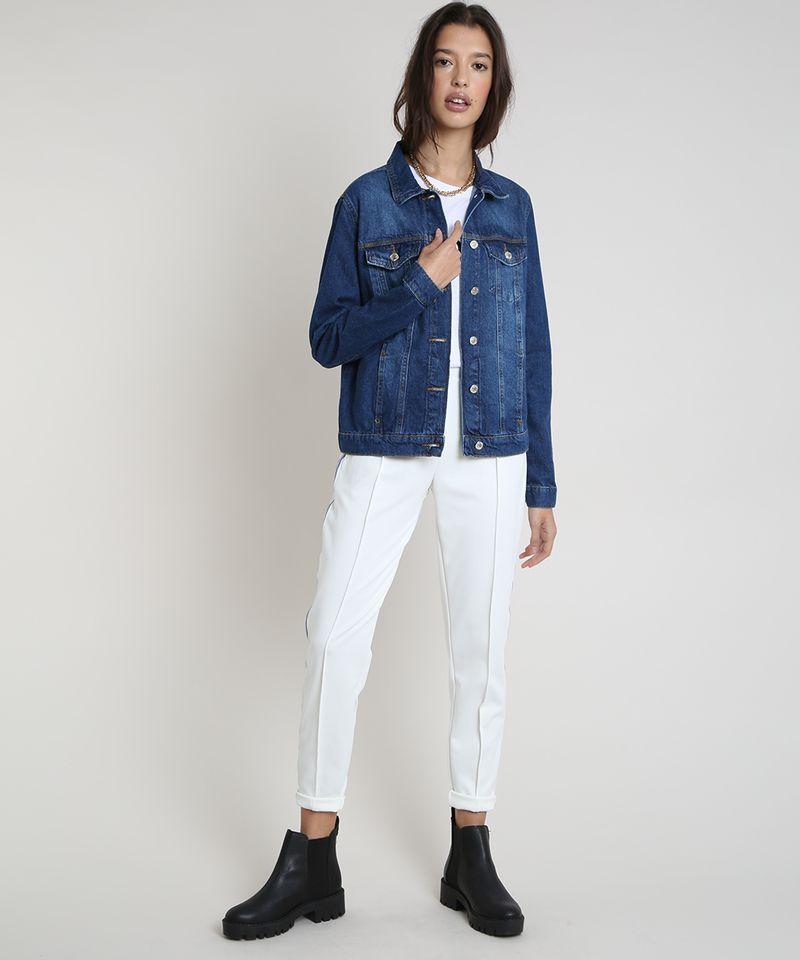 Jaqueta-Jeans-Feminina-com-Bolsos-Azul-Escuro-9859544-Azul_Escuro_3