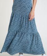 Saia-Feminina-Longa-Estampada-Floral-com-Recortes--Azul-Petroleo-9879955-Azul_Petroleo_4