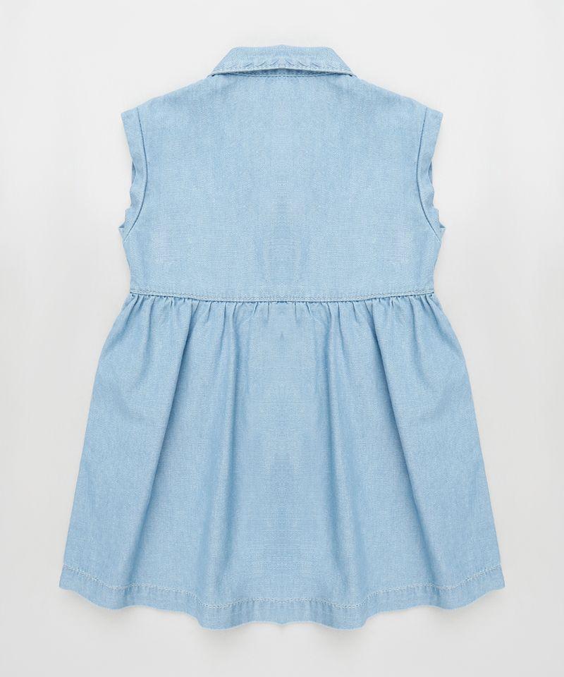 Vestido-Jeans-Infantil-com-Bolso-Sem-Manga-Azul-Claro-9894189-Azul_Claro_2