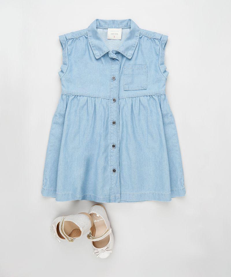 Vestido-Jeans-Infantil-com-Bolso-Sem-Manga-Azul-Claro-9894189-Azul_Claro_3