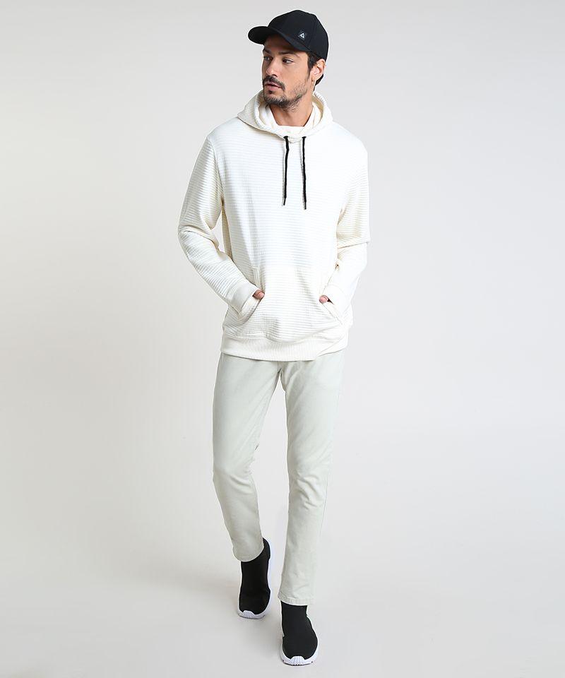 Blusao-Masculino-em-Moletom-Texturizado-com-Capuz-Branco-9781712-Branco_3