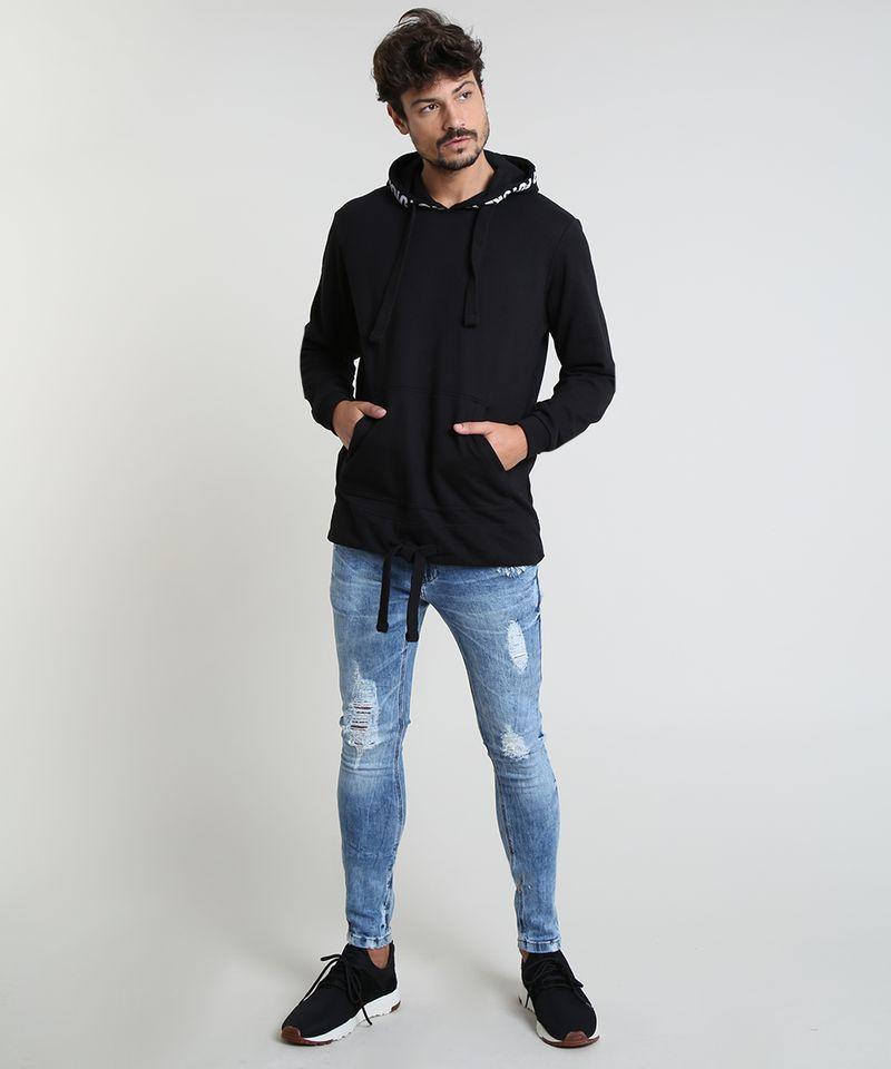 Calca-Jeans-Masculina-Super-Skinny-Destroyed-Azul-Medio-9884263-Azul_Medio_3