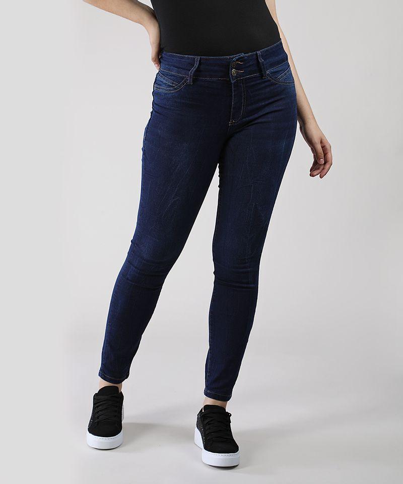 Calca-Jeans-Feminina-Super-Skinny-Pull-Up-Cintura-Alta-Azul-Escuro-9046067-Azul_Escuro_2