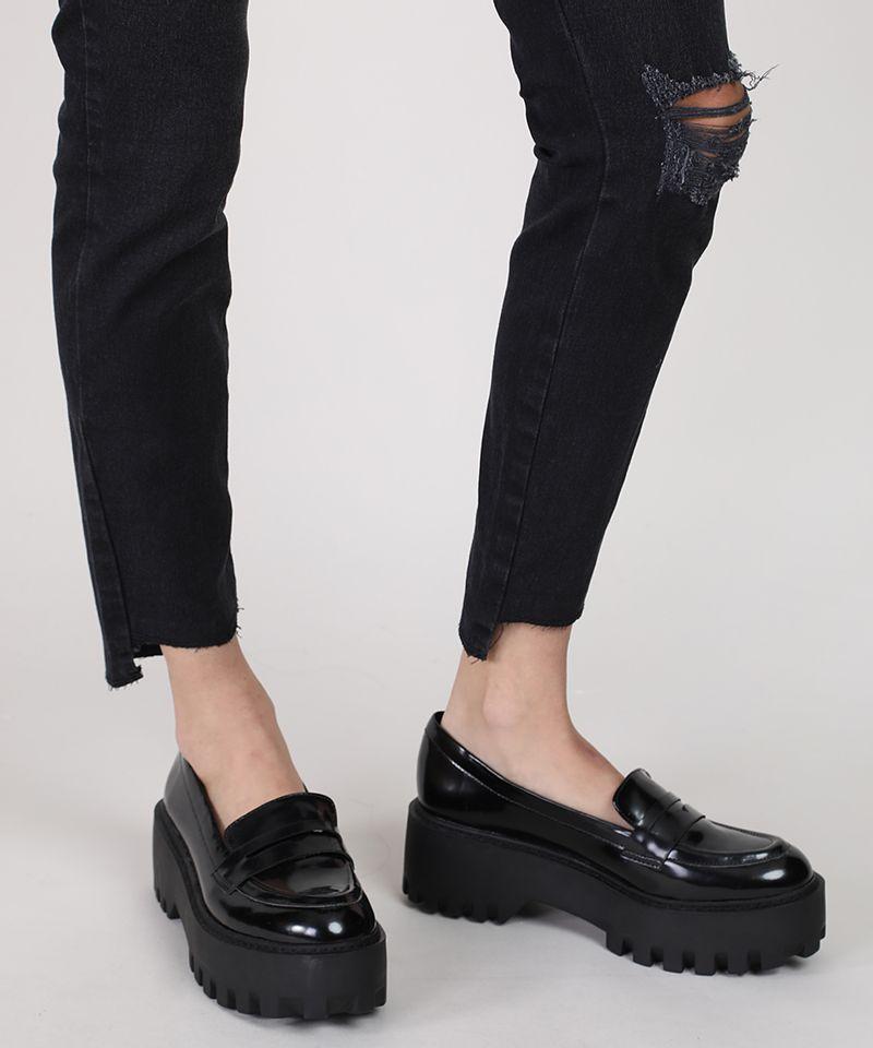 Calca-Jeans-Feminina-Cigarrete-Cintura-Media-com-Rasgo-Preta-9932021-Preto_4