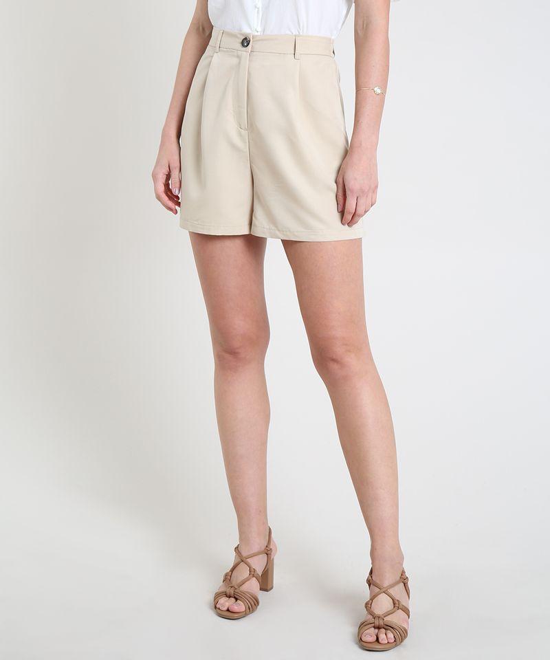 Short-Feminino-Alfaiatado-Cintura-Super-Alta-xom-Bolsos-Bege-Claro-9817721-Bege_Claro_1