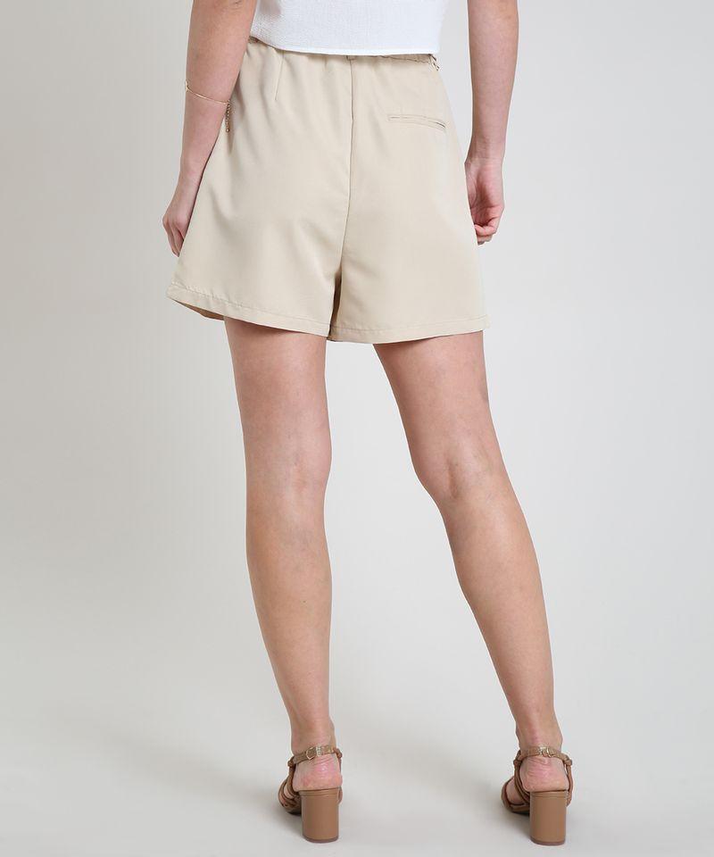 Short-Feminino-Alfaiatado-Cintura-Super-Alta-xom-Bolsos-Bege-Claro-9817721-Bege_Claro_2