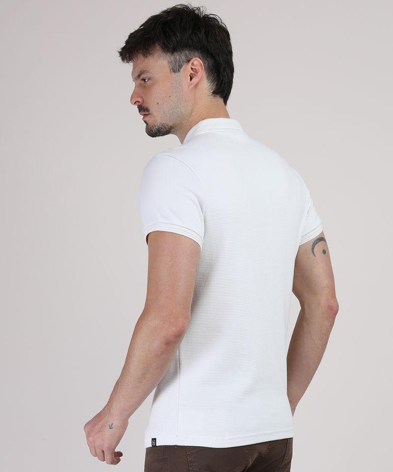 Polo-Masculina-Slim-Texturizada-Manga-Curta-Branca-9872557-Branco_2