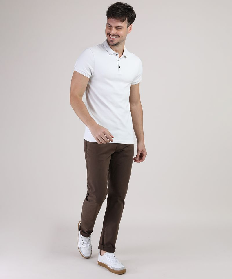 Polo-Masculina-Slim-Texturizada-Manga-Curta-Branca-9872557-Branco_3