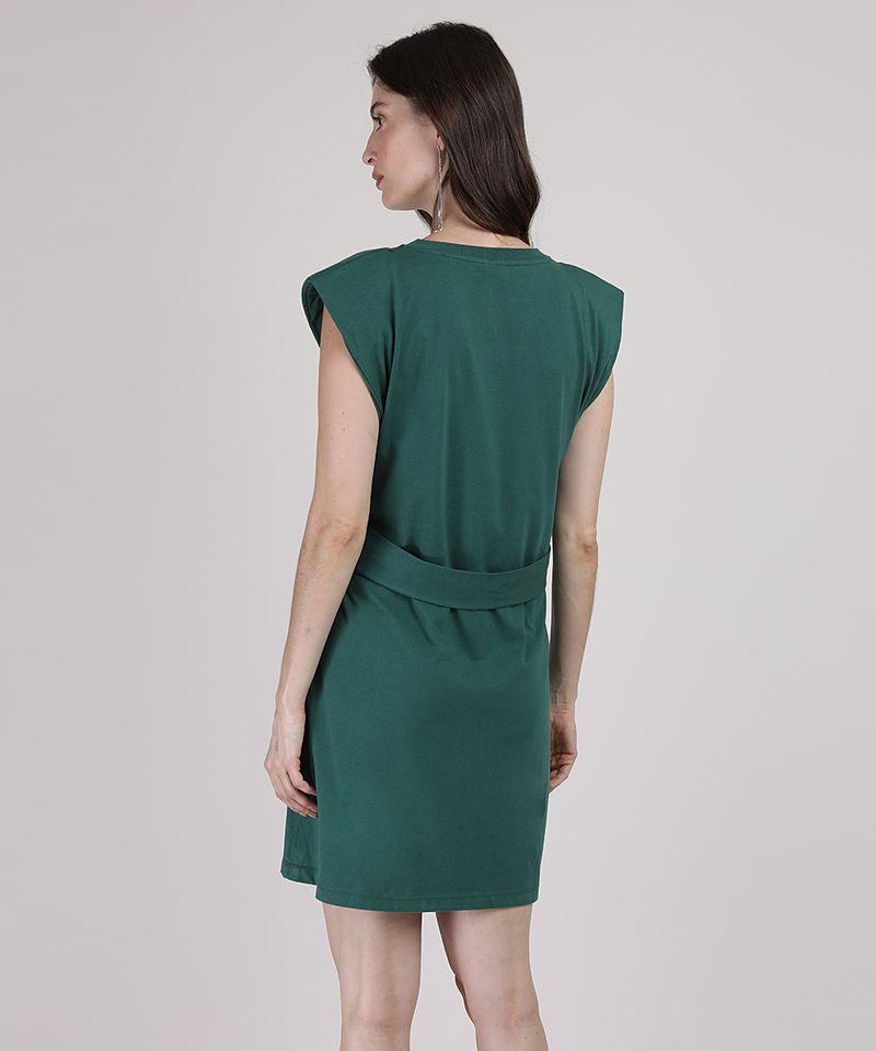 Vestido-Muscle-Dress-Feminino-Mindset-Curto-com-Ombreiras-e-Faixa-para-Amarrar-Sem-Manga-Verde-Escuro-9949427-Verde_Escuro_2