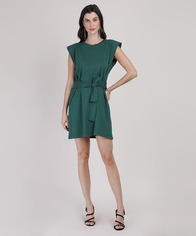 Vestido-Muscle-Dress-Feminino-Mindset-Curto-com-Ombreiras-e-Faixa-para-Amarrar-Sem-Manga-Verde-Escuro-9949427-Verde_Escuro_3
