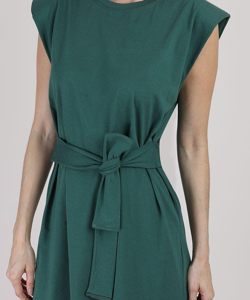 Vestido-Muscle-Dress-Feminino-Mindset-Curto-com-Ombreiras-e-Faixa-para-Amarrar-Sem-Manga-Verde-Escuro-9949427-Verde_Escuro_4