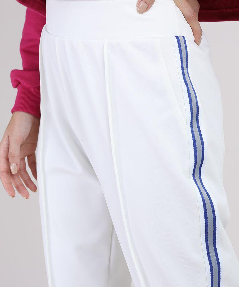 Calca-Feminina-Manu-Gavassi-Cintura-Alta-com-Bolsos-e-Faixa-Lateral-Off-White-9908847-Off_White_4