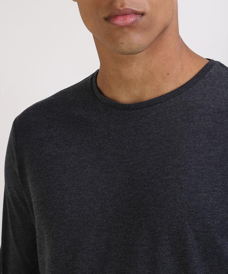 Camiseta-Masculina-Basica-Comfort-Fit-Manga-Longa-Gola-Careca--Cinza-Mescla-Escuro-9826872-Cinza_Mescla_Escuro_4