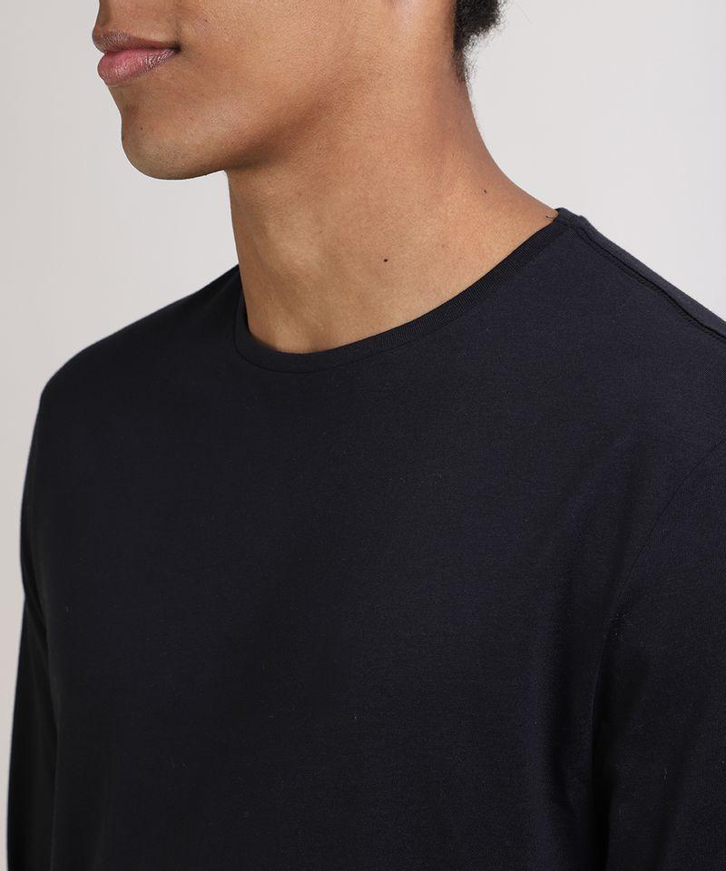 Camiseta-Masculina-Basica-Comfort-Fit-Manga-Longa-Gola-Careca-Preta-9826872-Preto_4