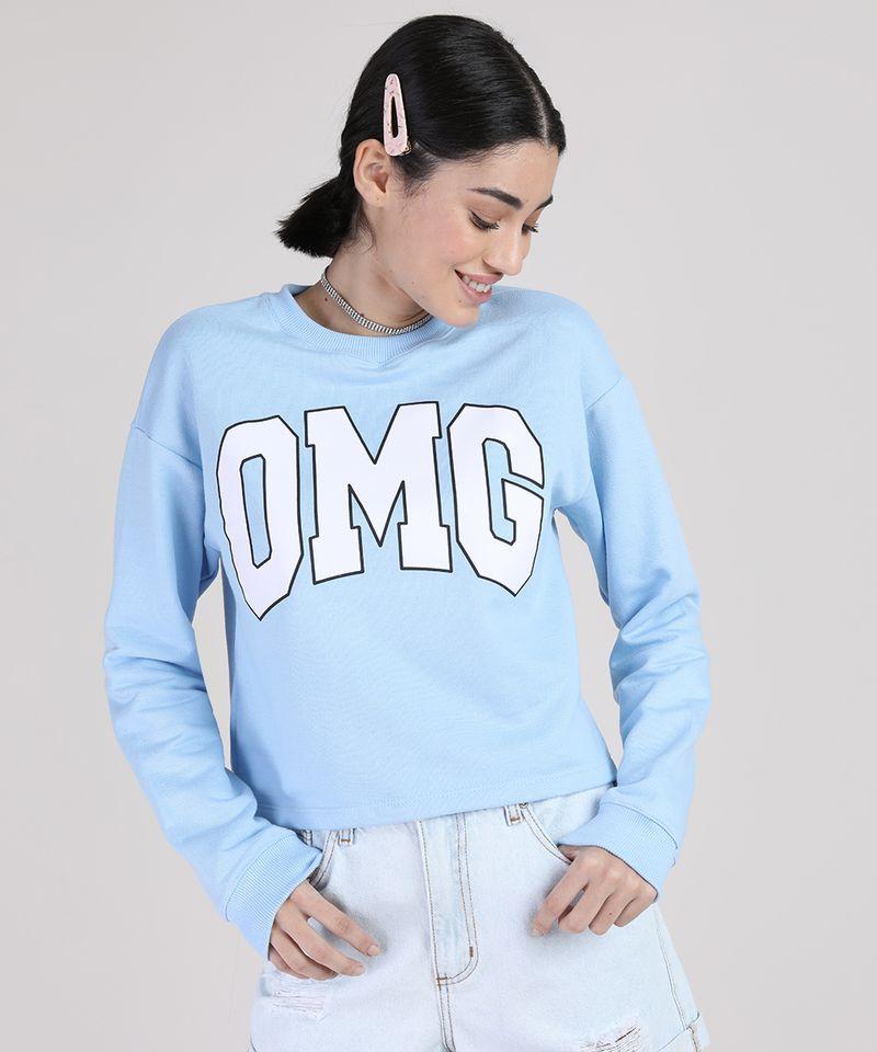 Blusao-de-Moletom-Feminino--OMG--Decote-Redondo-Azul-Claro-9943305-Azul_Claro_1
