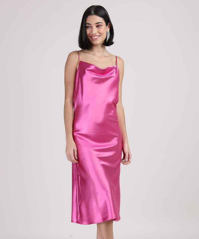 Vestido-Slip-Dress-Feminino-Midi-Acetinado-Alca-Fina-Gola-Degage-Pink-9950654-Pink_5