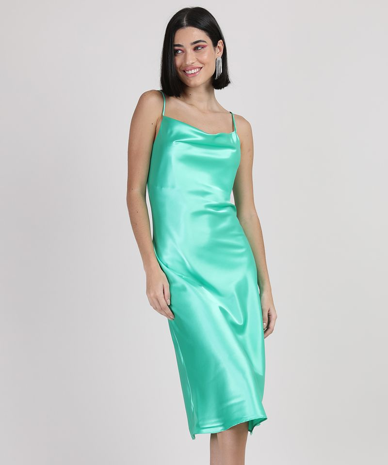 Vestido-Slip-Dress-Feminino-Midi-Acetinado-Alca-Fina-Gola-Degage-Verde-Agua-9950654-Verde_Agua_1