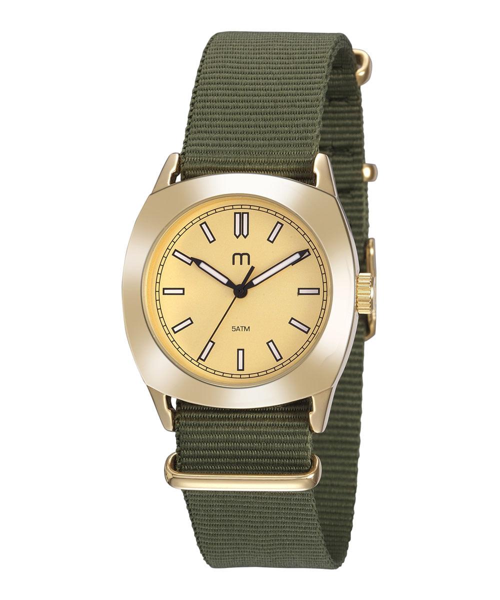Kit de relógio analógico mais pulseira - Mondaine