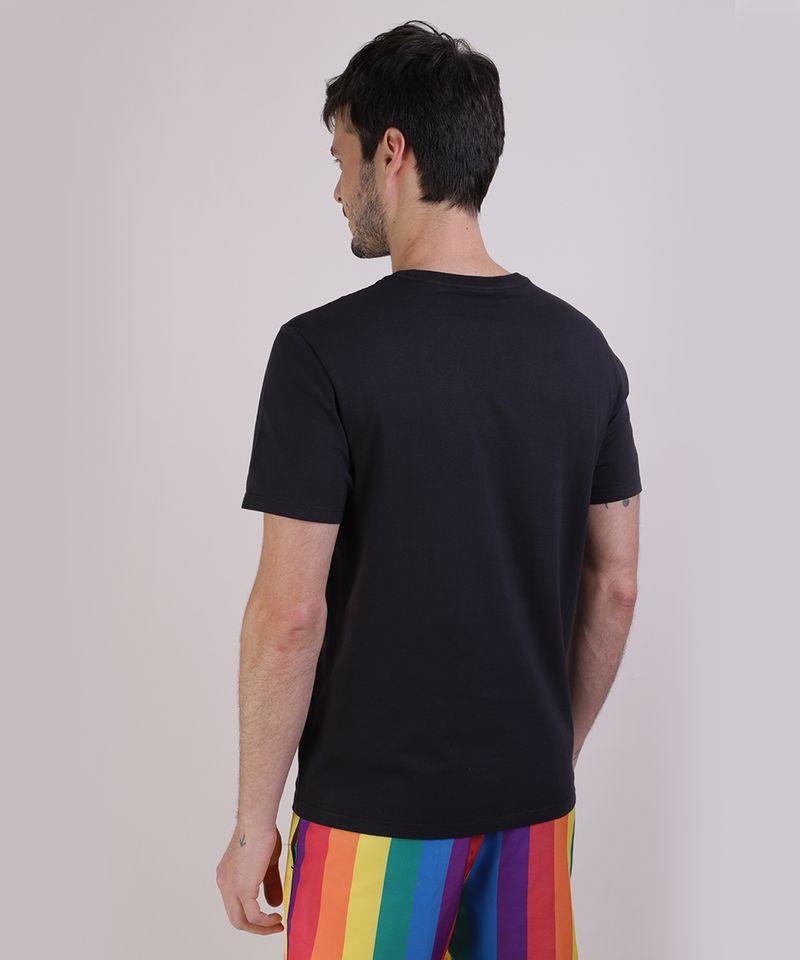 Camiseta-Masculina-Pride-Mickey-Arco-Iris-Manga-Curta-Gola-Careca-Preta-9585822-Preto_2