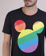 Camiseta-Masculina-Pride-Mickey-Arco-Iris-Manga-Curta-Gola-Careca-Preta-9585822-Preto_4