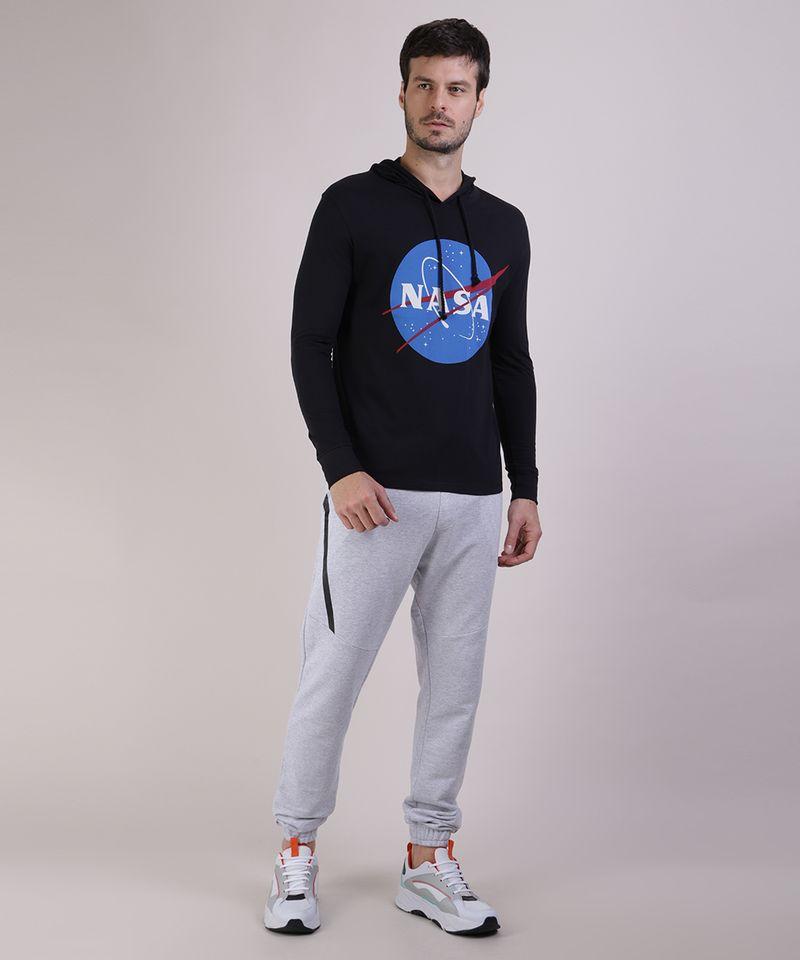 Camiseta-Masculina-NASA-com-Capuz-Manga-Longa-Preta-9953260-Preto_3