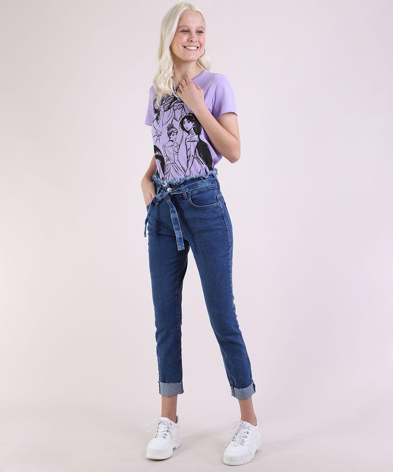 Calca-Jeans-Feminina-Skinny-Clochard-Cintura-Super-Alta-com-Faixa-Para-Amarracao-Azul-Escuro-9950643-Azul_Escuro_3