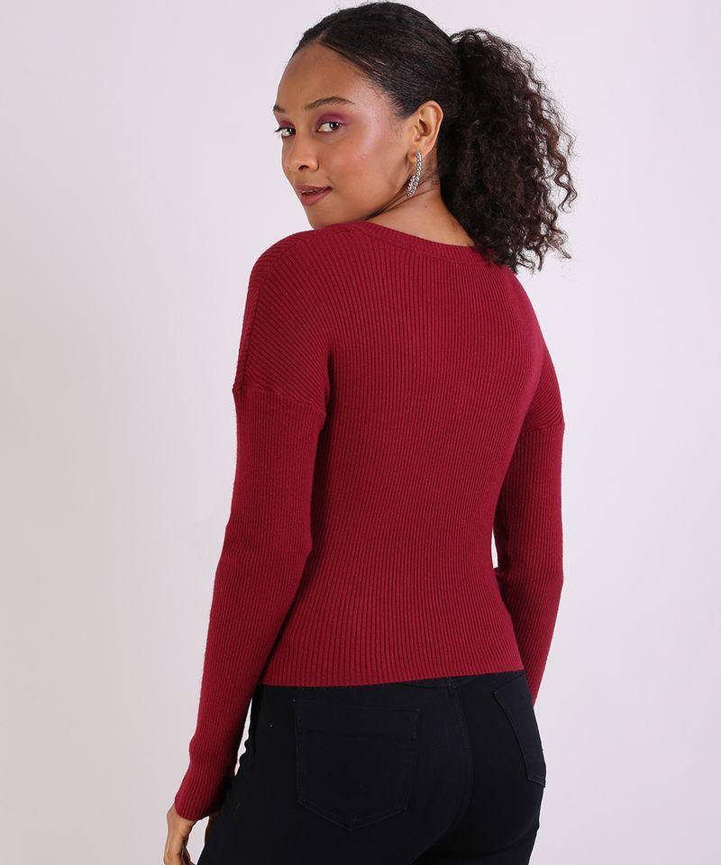 Sueter-em-Trico-Feminino-Basico-Cropped-Texturizado-Vermelho-9798091-Vermelho_2