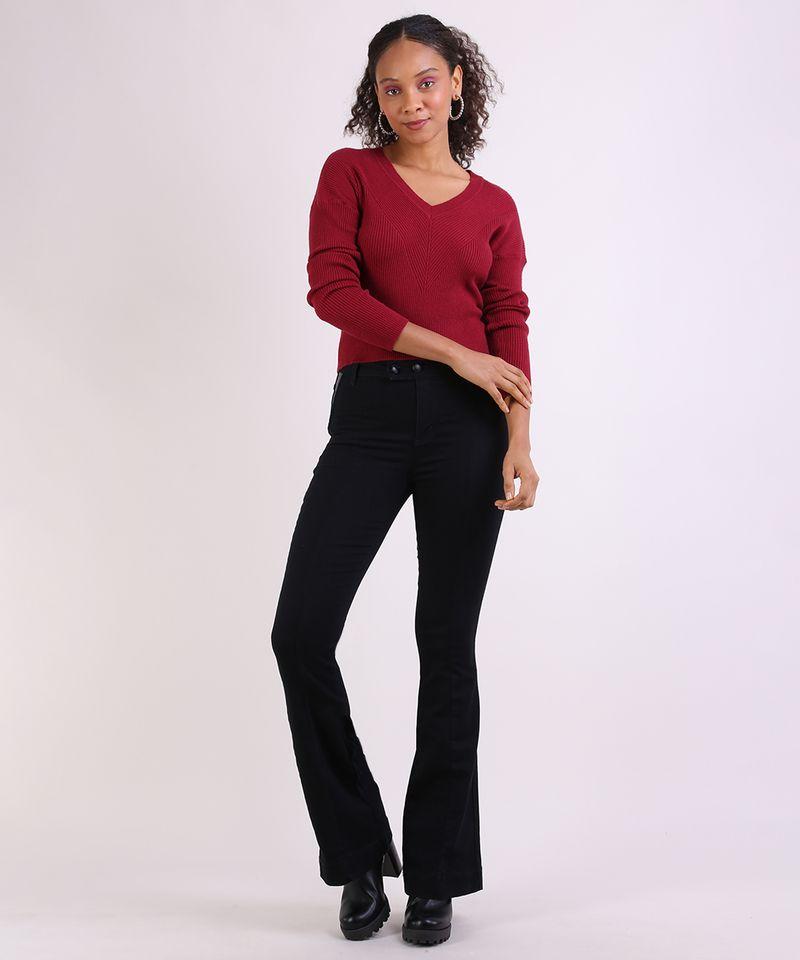 Sueter-em-Trico-Feminino-Basico-Cropped-Texturizado-Vermelho-9798091-Vermelho_3